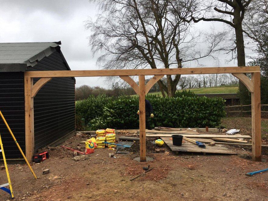 Garage and workshop build